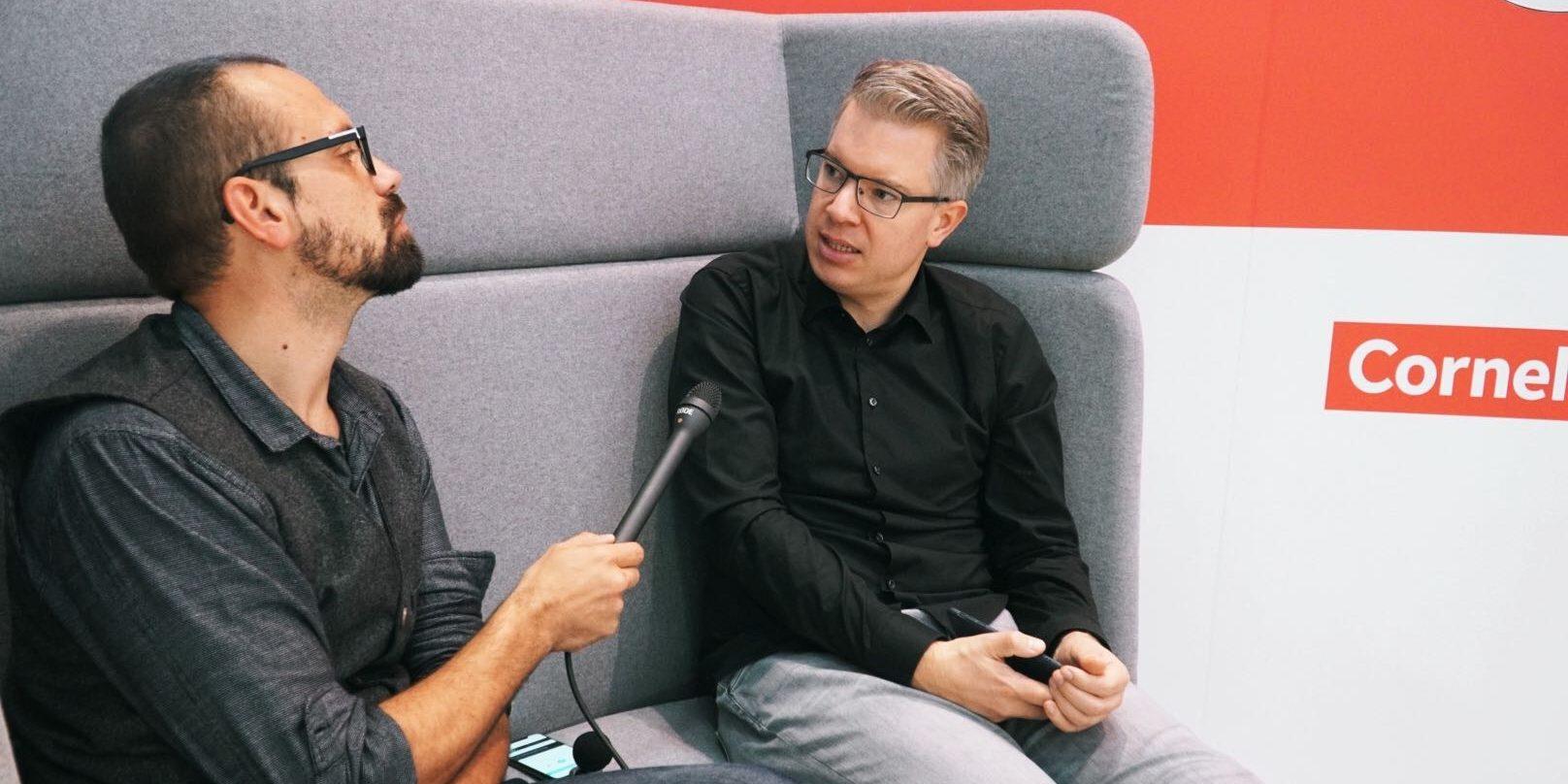 Frank Thelen im Gespräch mit Florian Sochatzy bei der EduCouch