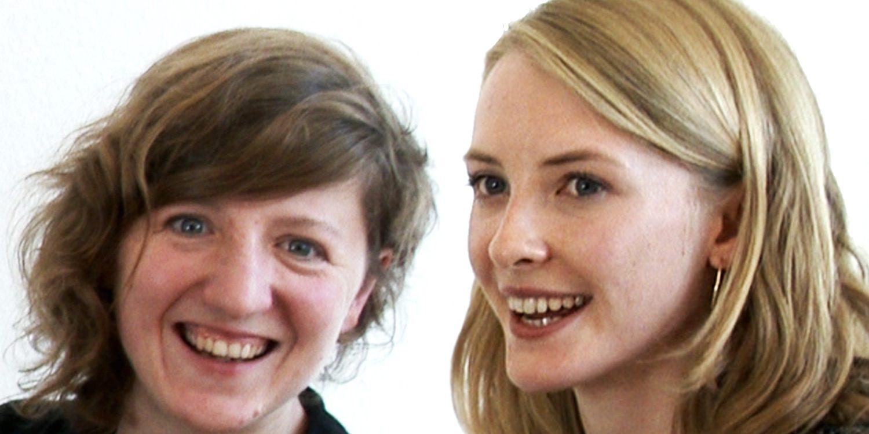 Jennifer Eckhardt und Annalena Sieveke