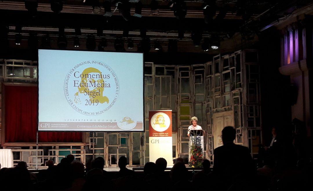 Comenius EduMedia Award 2019 Veranstaltung; Institut für digitales Lernen