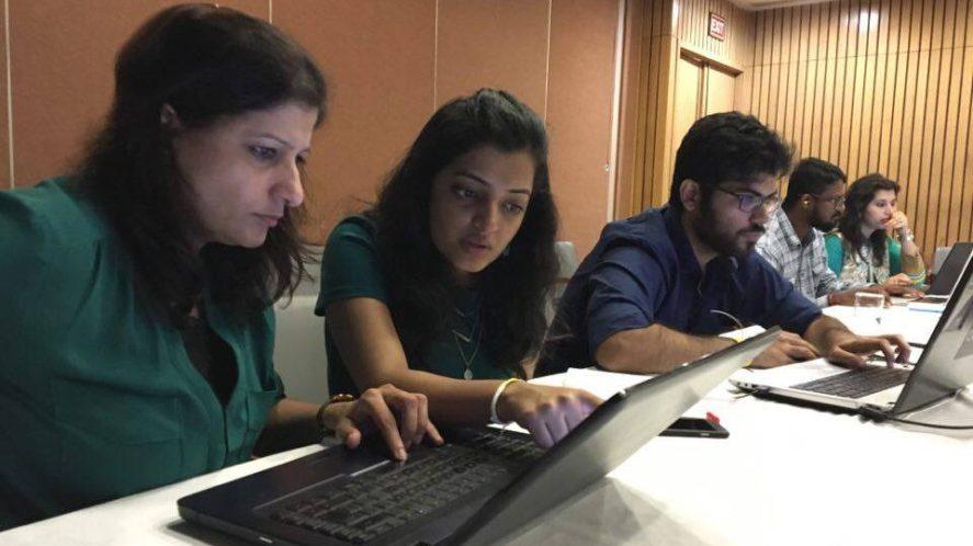 Masterclass Digital Design New Dehli; Institut für digitales Lernen