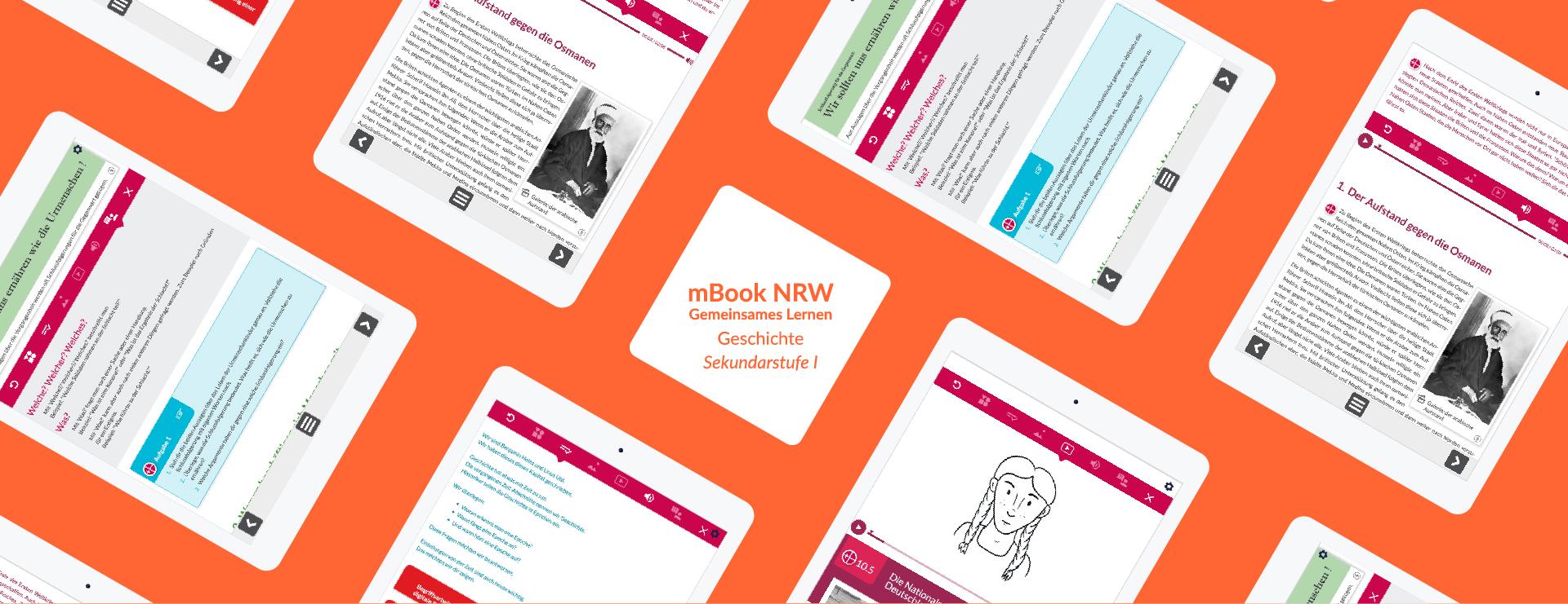 mBook NRW Geschichte Sekundarstufe 1 Header; Institut für digitales Lernen