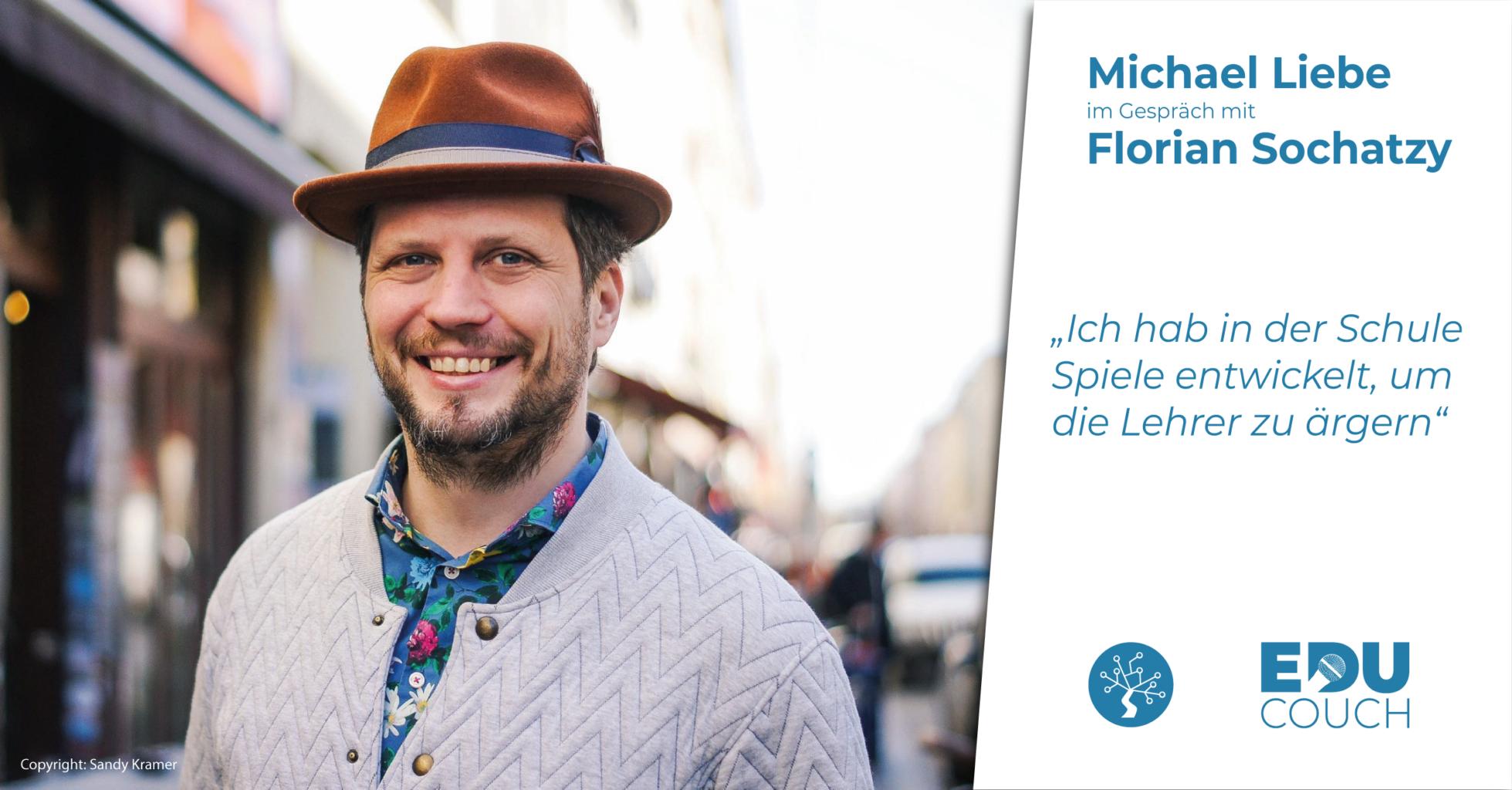 Micheal Liebe im Gespräch mit Florian Sochatzy bei der EduCouch