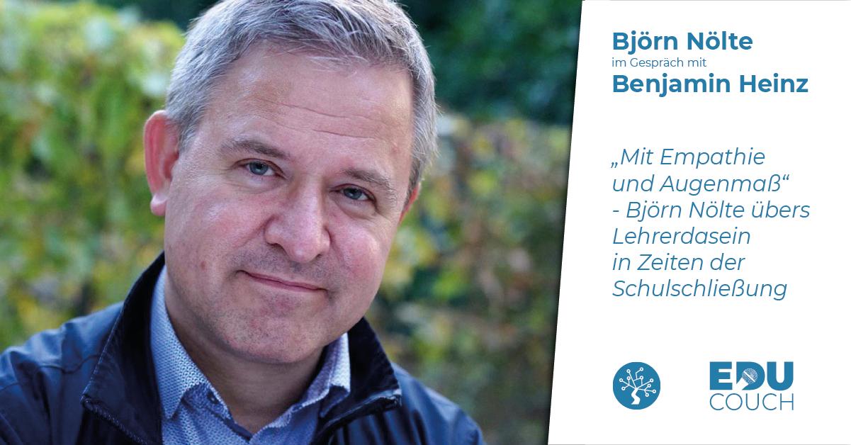 Björn Nölte im Gespräch mit Benjamin Heinz bei der EduCouch